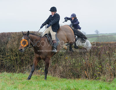 jumping a hedge behind Waterloo Lodge