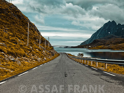 Road, Lofoten, Norway