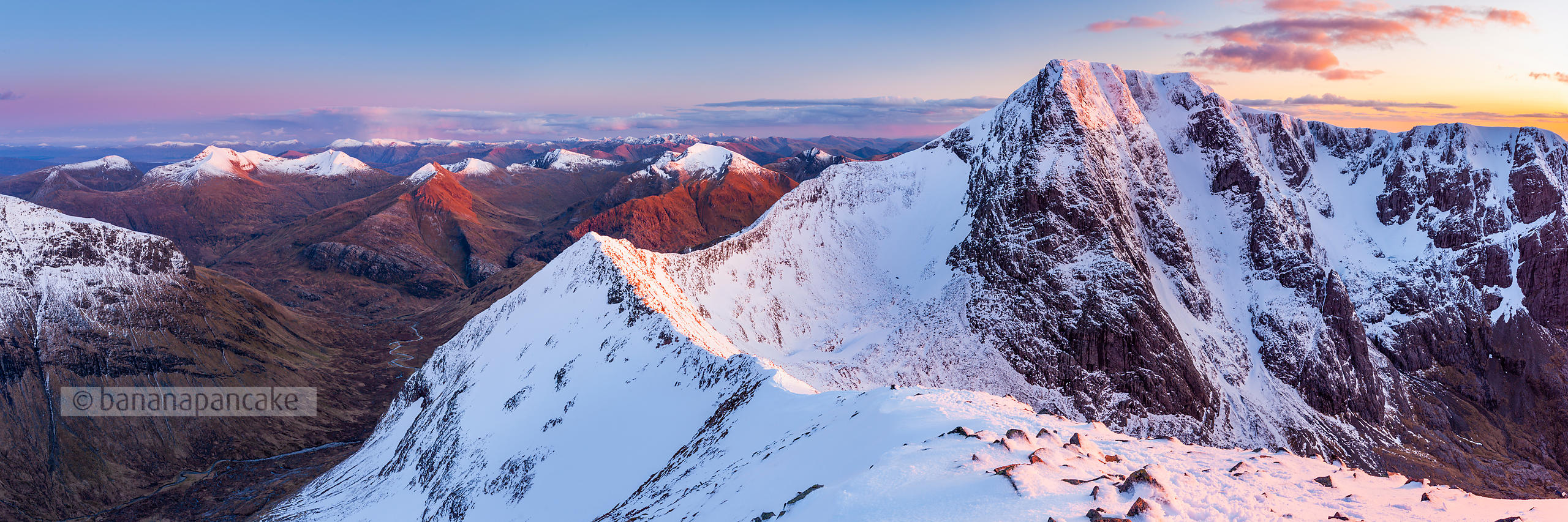 Ben Nevis and the Carn Mor Dearg arête, Scotland (BP2923B)