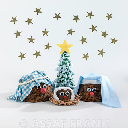 Christmas Pudding Nativity