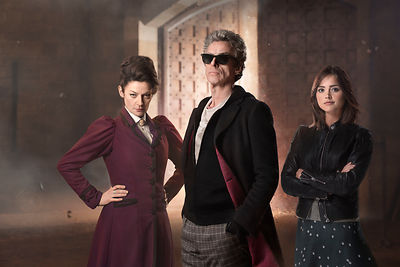 Doctor Who Series 9 publicity photography