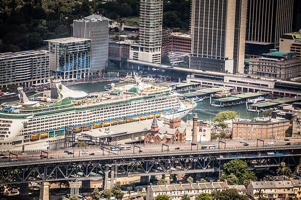 Cruise Ship in Circular Quay