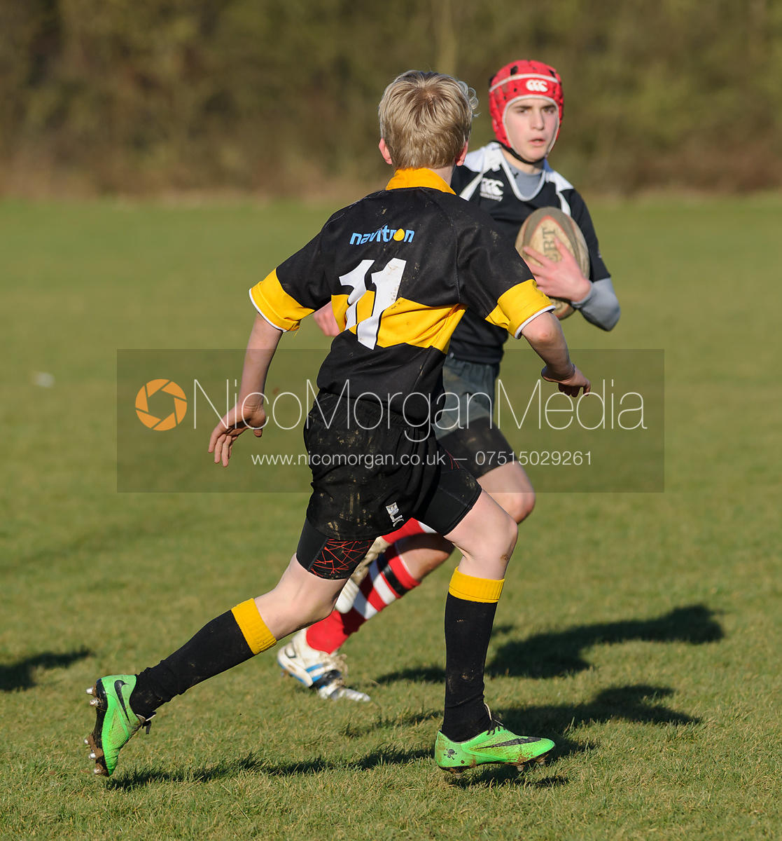 Oakham Rugby Club's U13A XV vs. Market Harborough