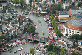 Amsterdam - Luchtfoto Canal Parade 22