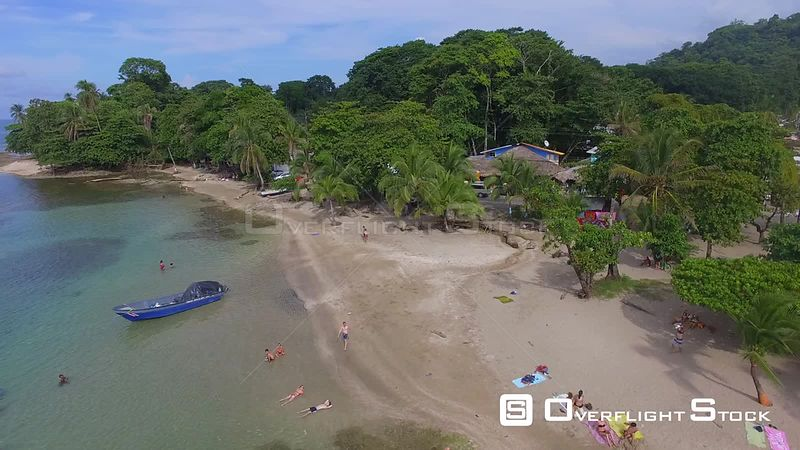 Playa Punta Uva Caribbean Sea Costa Rica Drone Video