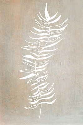 close up of beautiful white feather on ancient background - hand drawn design