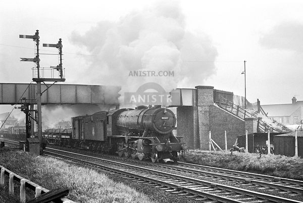 Steam loco WD 90487  Peartree and Normanton
