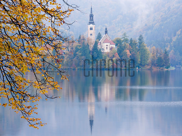 Church of the Assumption, Lake Bled, Slovenia