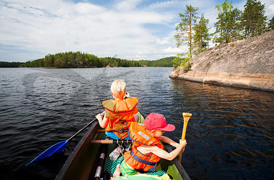 Paddling Trip with Kids