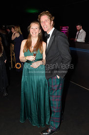 Hannah Connors, Dominic Gwyn-Jones. The Quorn Hunt Ball