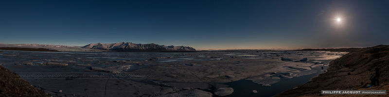 2015 - Iceland - Jokulsarlon lake - Total Solar EclipseEclipse