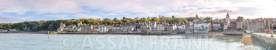 South Queensferry waterfront, Scotland