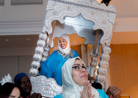 moroccan wedding presentation