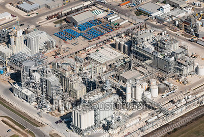 Oil Refinery aerial photo