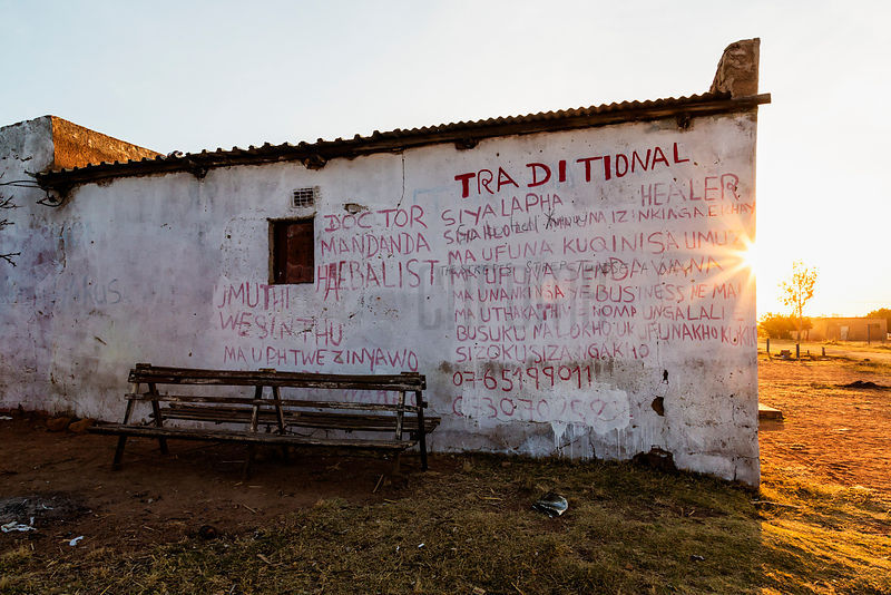 Traditional Healer Shop