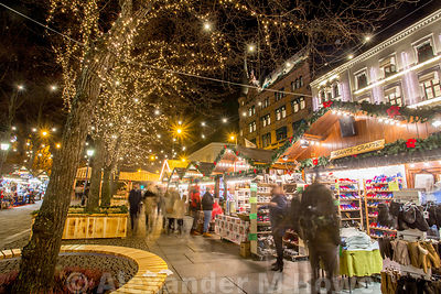Christmas Market at the Oslo Winter Wonderland