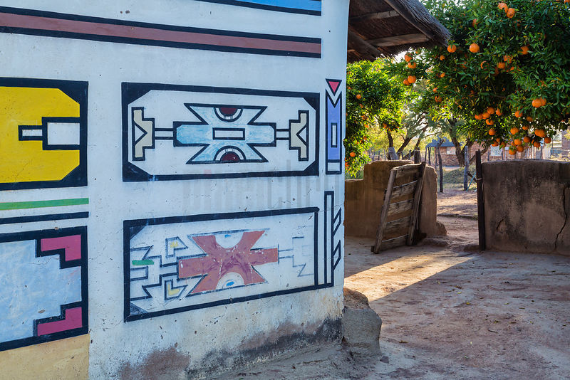Traditional Ndebele Artwork