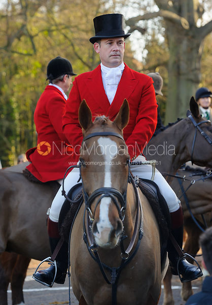 Ian Arthur - Boxing Day Meet of the Cottesmore Hunt, Oakham 26/12