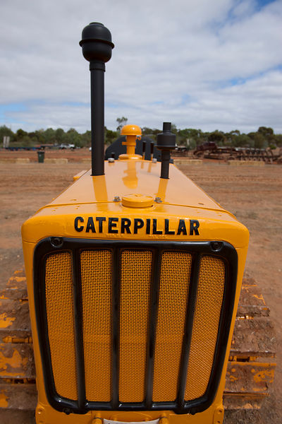 Caterpillar D2 crawler