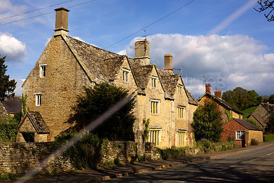 Whichford Village Street Scene
