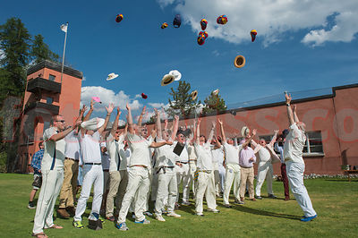 Cricket Match 2015 - Cresta Club Saint Moritz