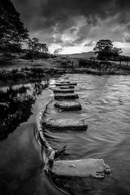 Storm Over The Stepping Stones