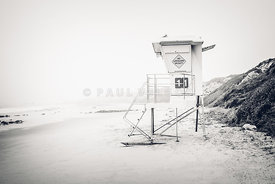 Crystal Cove Lifeguard Tower 11 in Laguna Beach