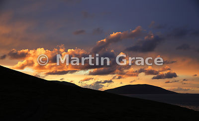 Saunders Island sunset sky, Falkland Islands