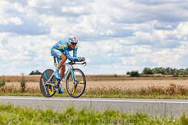 The Cyclist Andrij Grivko - Tour de France 2012