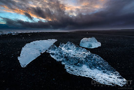 Ice and Fog | Jökulsárlón, Iceland