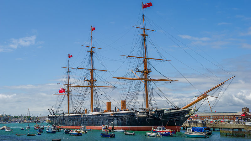 HMS Warrior at Portsmouth Historic Dockyard