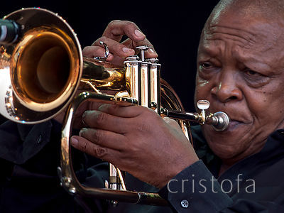 Hugh Masekela at WOMAD