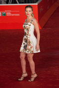 "Scarlett Johnasson on red carpet for the film ""Her"" by Director Spike Jonze"