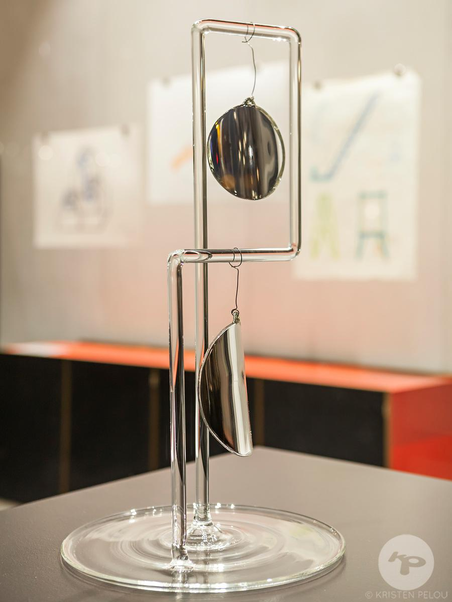 Drawing Glass Exhibition by Fabrica in the Silvera Bac Showroom, Paris, France.