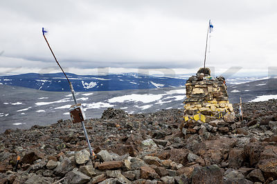 The Highest point in Finland (1324m)