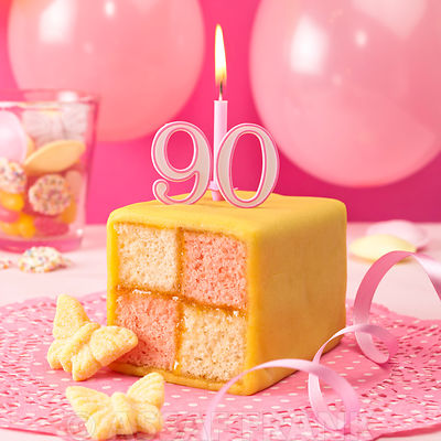 Battenberg Birthday Cake