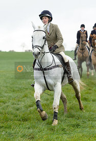 Frankie Wyatt at Knossington Spinney - The Fitzwilliam Hunt visit the Cottesmore at Burrough House
