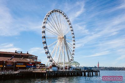 Seattle Great Wheel, Seattle, Etats-Unis