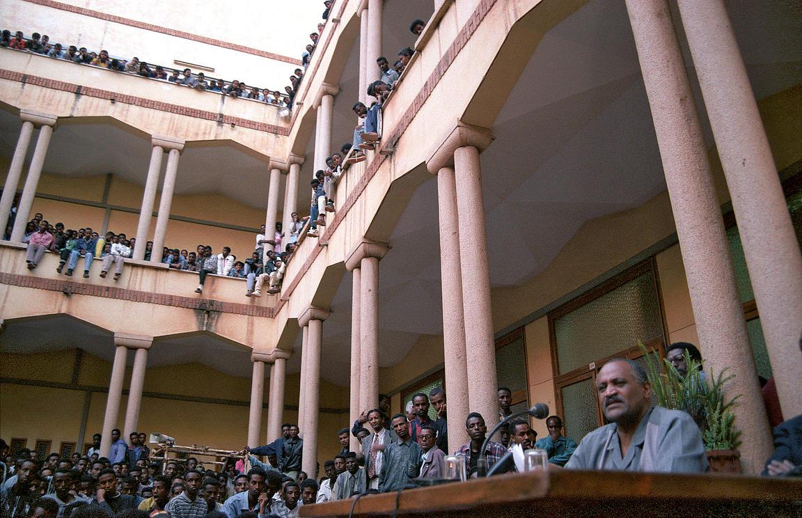 Sami Sallinen | Haile Woldetensae at Asmara University