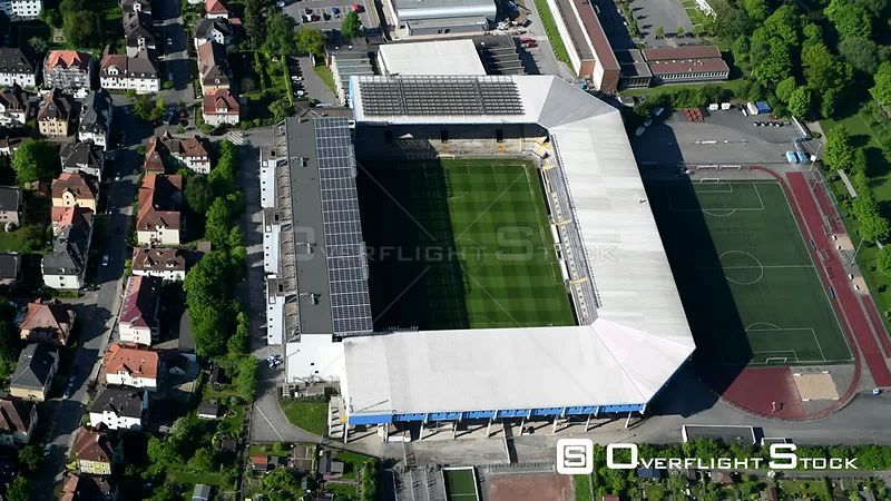 Sports grounds grounds of SchücoArena in Bielefeld in the state of North Rhine-Westphalia, Germany