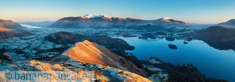 Keswick and Derwent Water from Catbells - BP3376
