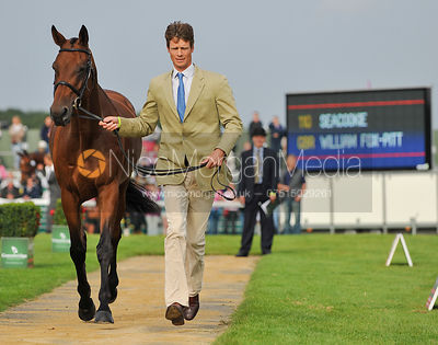 William Fox-Pitt and Seacookie - 2nd Inspection - Burghley 2010