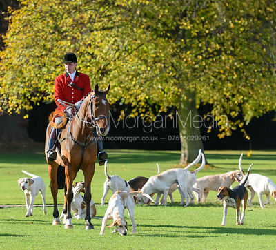Simon Hunter at the meet - Fitzwilliam Hunt Opening Meet 2016
