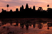 Angkor Wat at sunrise, Siem Reap, Cambodia