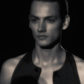 """Damir Doma Runway SS12: Model Portrait - 1"""