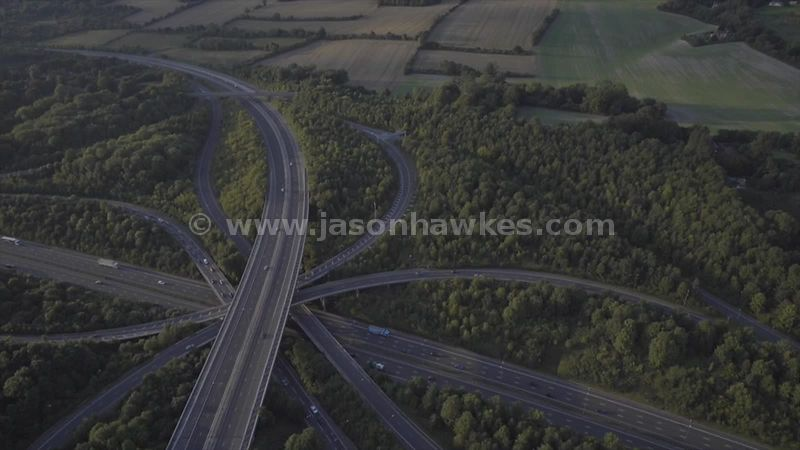 M25 motorway junction