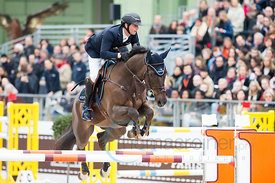 Paris, France, 17.3.2018, Sport, Reitsport, Saut Hermes - .PRIX GL Events Bild zeigt Julien GONIN(FRA) riding Well Done...17/...
