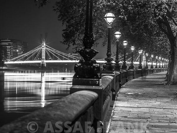 Albert Bridge Walkway Lamps