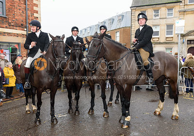 At the meet. The Cottesmore Hunt Boxing Day Meet in Oakham 26/12