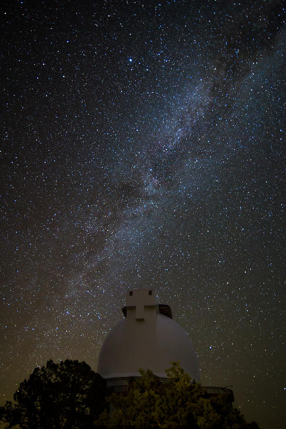 Mt Lock Observatory and the Milky Way